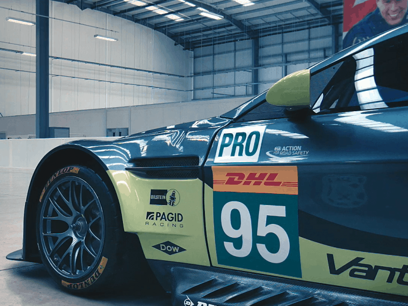 sports car video